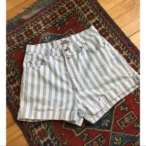 Pants - 🌸 High waisted striped shorts